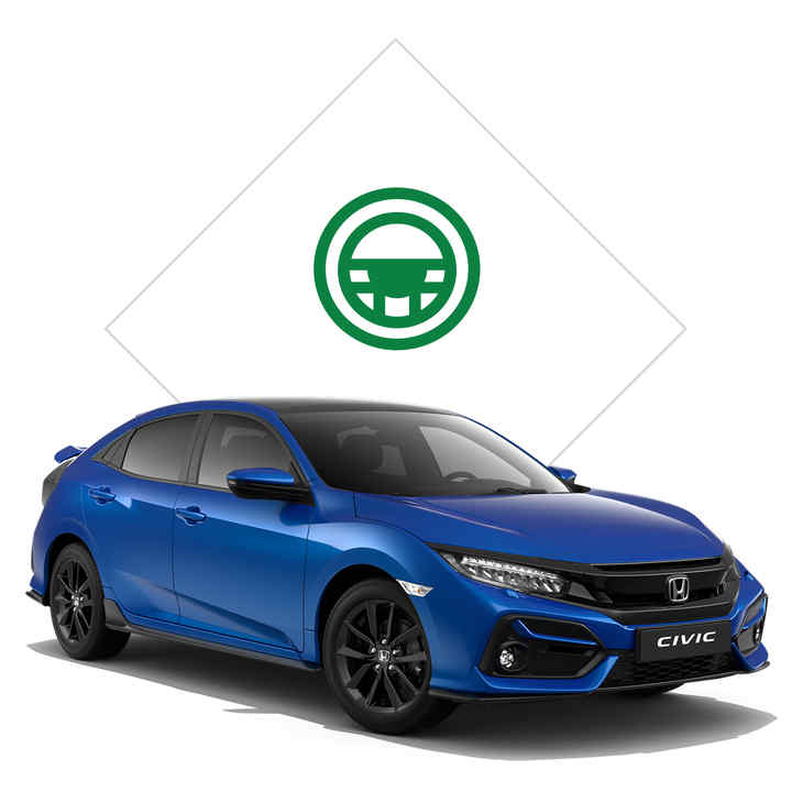 Honda civic 2020 cena
