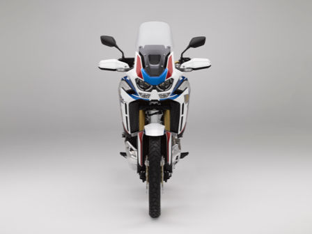 Model Honda Africa Twin Adventure Sports, zepředu