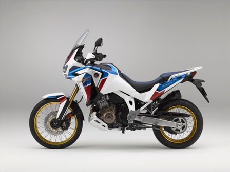 Model Honda Africa Twin Adventure Sports, zleva