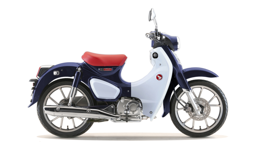 honda super cub c125 technick daje 125 ccm motocykly. Black Bedroom Furniture Sets. Home Design Ideas