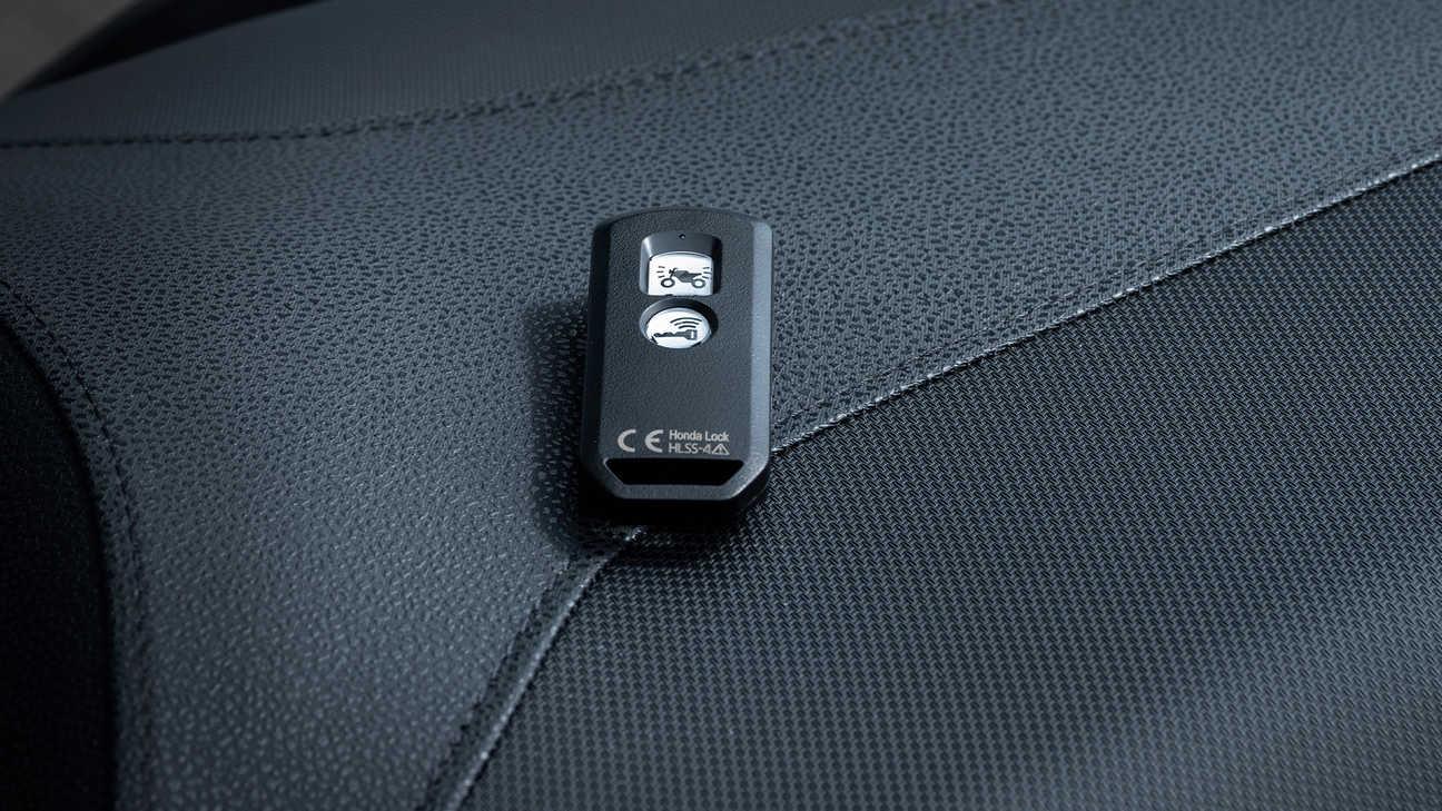 Forza 125, ovládání systémem Smart Key