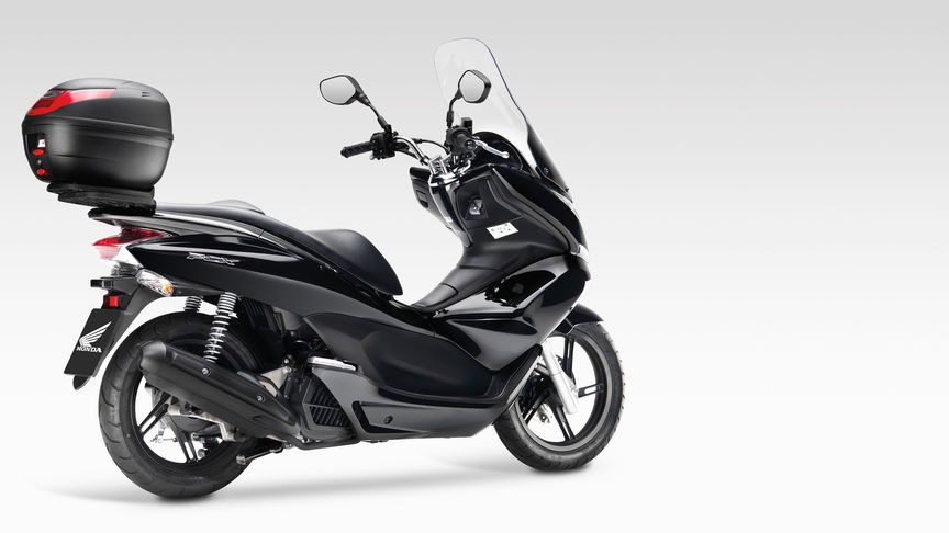 PCX with top box.