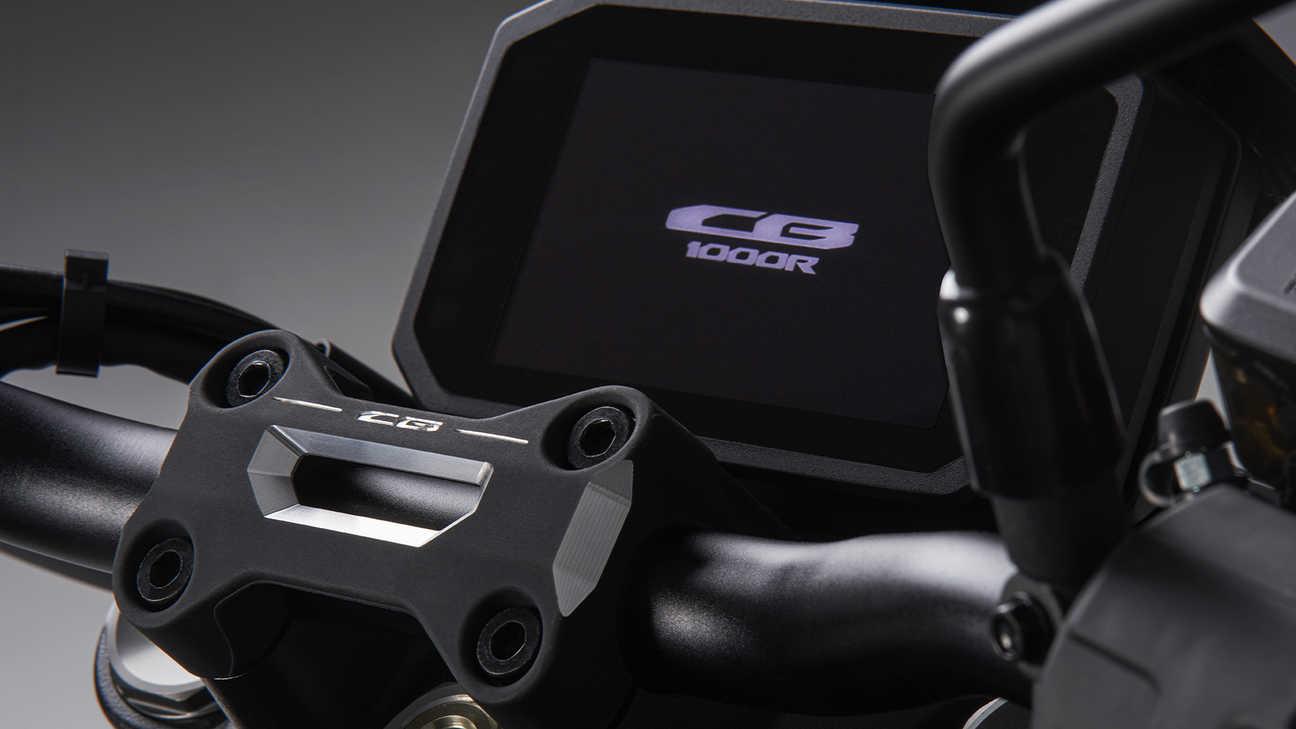 CB1000R Black Edition, krása tkví vdetailu