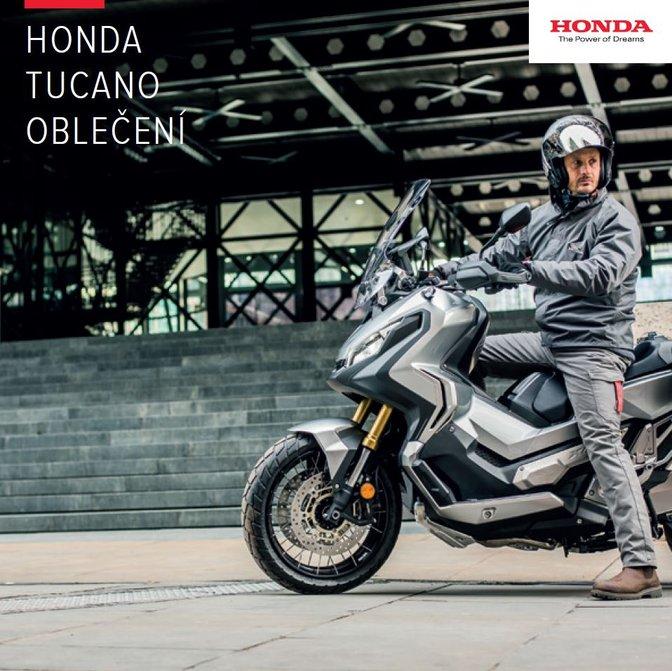 9ed6a550ea4 Kolekce motocyklového oblečení Honda TUCANO 2018