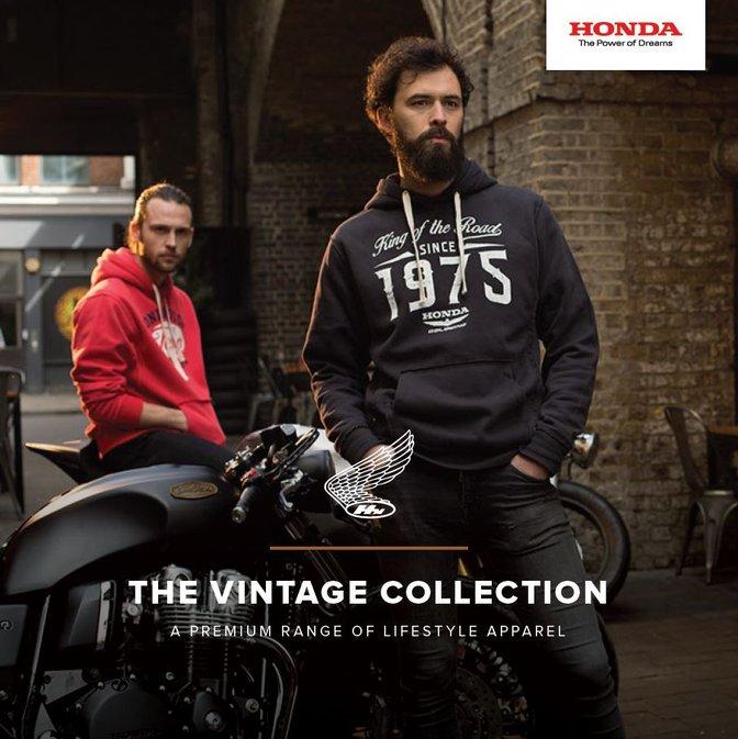 79d4b747e9f Kolekce volnočasového oblečení Honda VINTAGE 2018